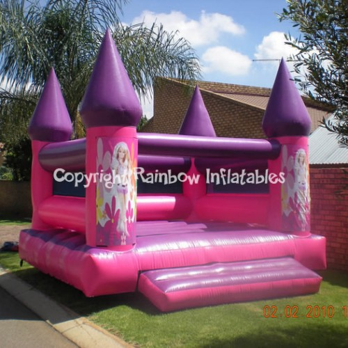 barbie-jumping-castle