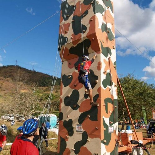 Climbing Wall with Zipline
