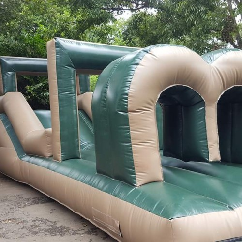 John Cena Obstacle Jumping Castle