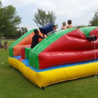 Pillow Bash Jumping Castle