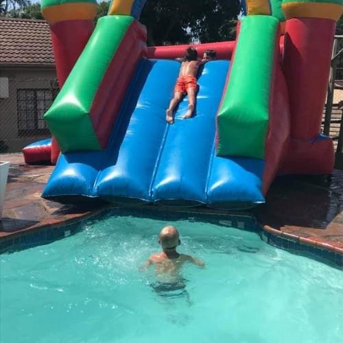 Pool Slide Jumping Castle